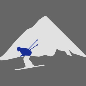 Cool ski mountain race design