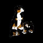 Alfie and Puppies