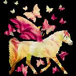 Pferd mit Flügel