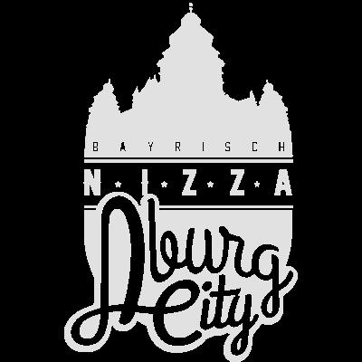 Bayrisch Nizza - Wappen Bayrisch Nizza Aburg City mit Schloß Johannesburg - Nizza,Bayrisch Nizza,Bayern,Aschaffenburg City,Aschaffenburg,Aburg city,Aburg