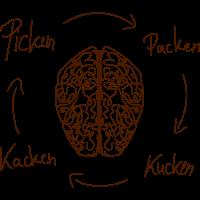 Picken Packen Kucken Kacken