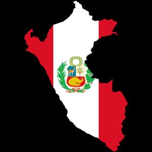Peru Flagmap