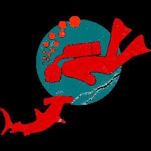 Taucher-II-hammerhai-shark