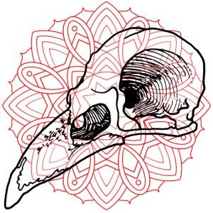 Mandala & oiseau
