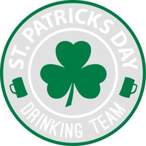 St Patricks Day - Drinking Team