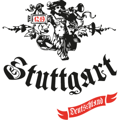 Stuttgart 1219 Deutschland - Stuttgart 1219 Deutschland Motiv. - vintage,trompeter,stuttgart,retro,neckar,deutschland,deutschland,Stuttgart 21,Germany,Baden württemberg,1219