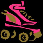 roller derby skate wings by patjila