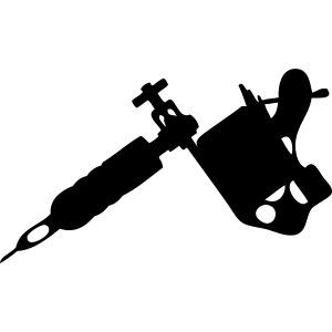 tattoo gun R