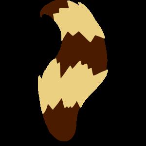 Waschbärschwanz