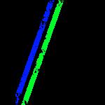 Stripes Schwarz Blau Grün