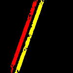 Stripes Schwarz Rot Gelb