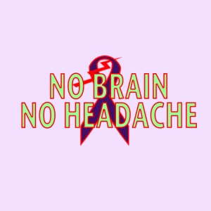 no brain no headache png