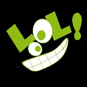 LOL! grün