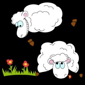 Comic-Schafe