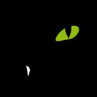 Zwinker Katze - Miau!