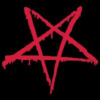 Blutiges Pentagram