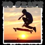 Longboarding Sunset Go Skate