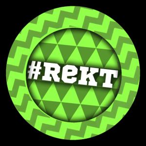 #Rekt Gamer T-Shirt Grün