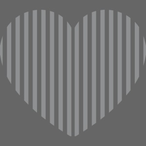 Heart grey opacity png