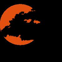 Bonsai Sonne Felsen
