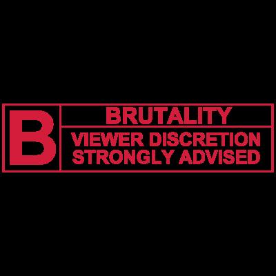 Brutality Rating - Brutality Rating - Vorsicht,UFC,Rating,MMA,Kampf,Gewalt,Film,ESRB,Brutalität