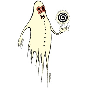 Feodore the Grumpy Ghost
