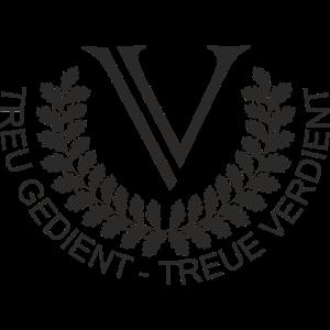 V Logo Black Groß