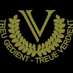 V Logo Oliv Groß