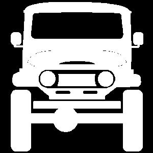 Land Cruiser - white