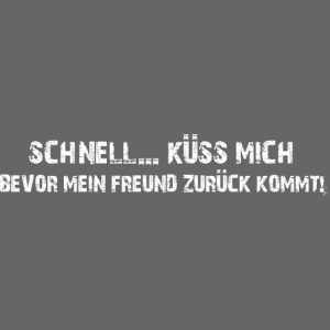 küss mich (weiss)