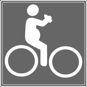 Fahrrad mit Bier