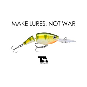 make lures not war white png