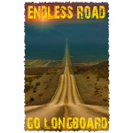 Endless Road Go Longboard
