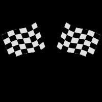 Ziel - Flagge