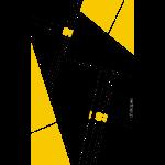 d'shapes black yellow