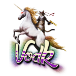 VodK + licorne spreadshir