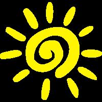 sun summer simple