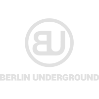 Berlin Underground Rec. - Logo White