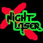 NL Logo - Rotgrün Neon