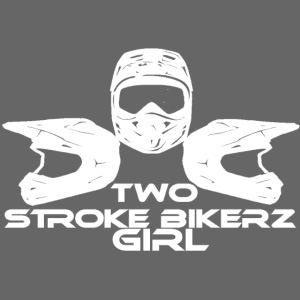 TSB Girl Hoodie - lila/weiß
