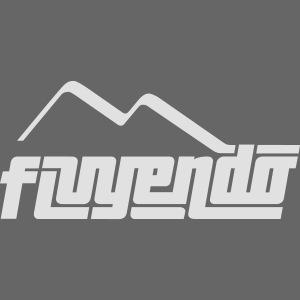 fluyendo logo BIANCO