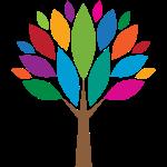 Bunte-Blätter-Baum