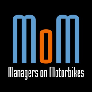 Managers on Motorbikes Logo
