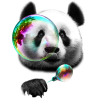 PANDA BUBBLEMAKER