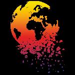 World dissolves - Welt löst sich auf