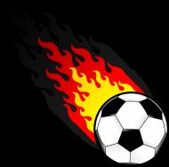Fan-Shirt: Duitsland Voetbal Vuurbal