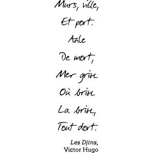 Victor Hugo - Djins