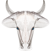 blue-eyed bull