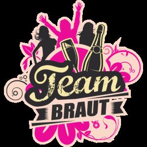 Team Braut zum Junggesellinenabschied