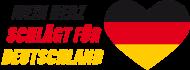 Fan-Shirt: Mein Herz schlägt für Deutschland